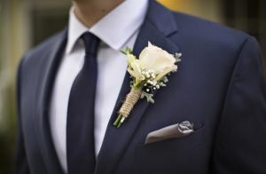 boutonniere wedding